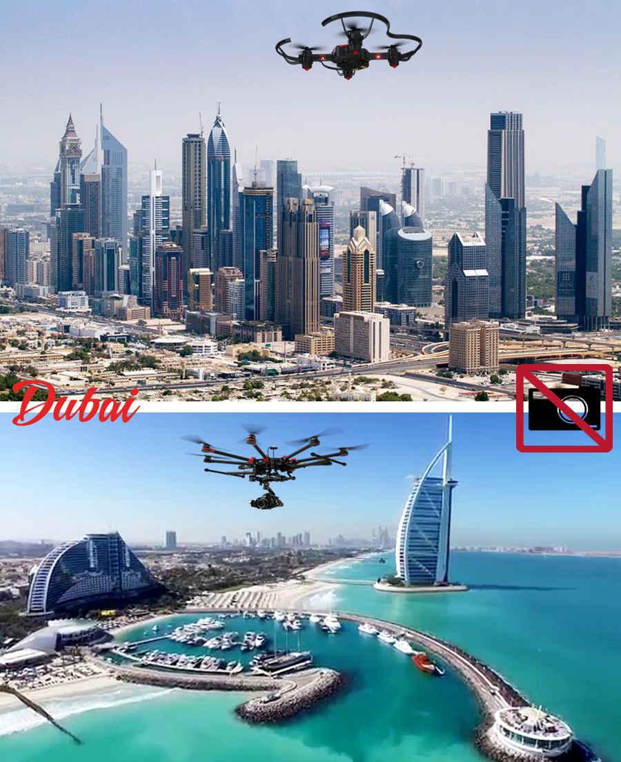 Emirates фотография с дрона