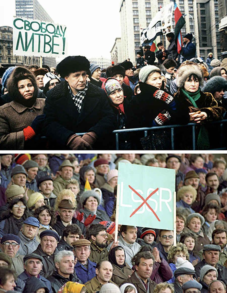 Литовские выступления 1991 года