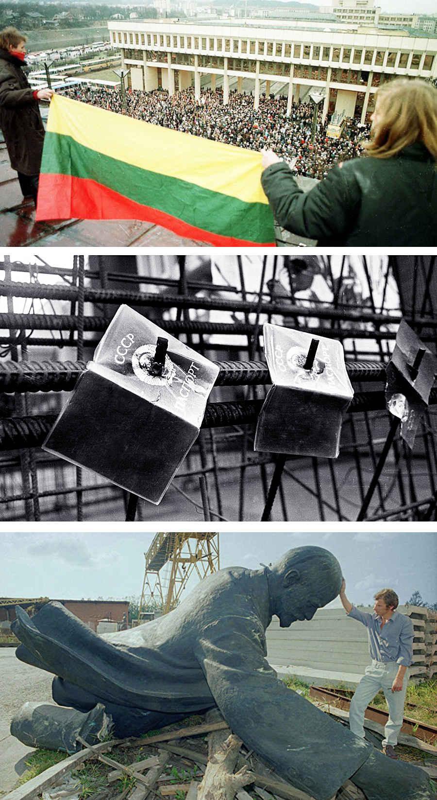 Литва вышла из состава СССР