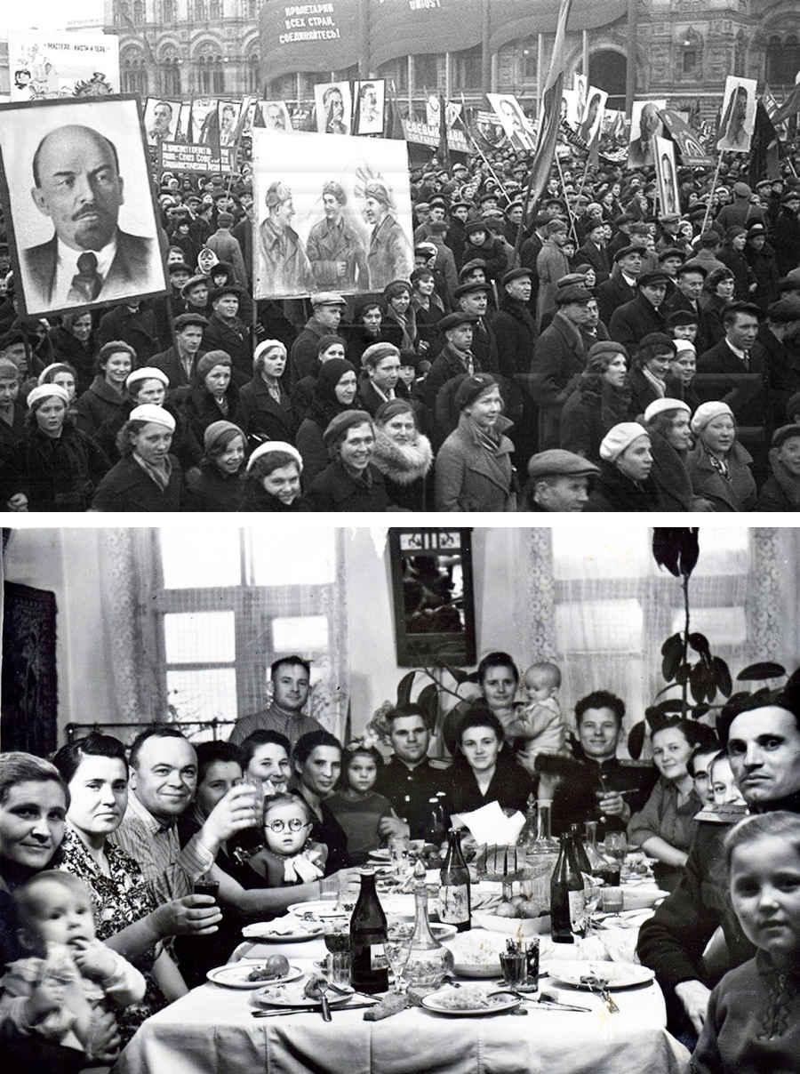 Демонстрации Великого октября