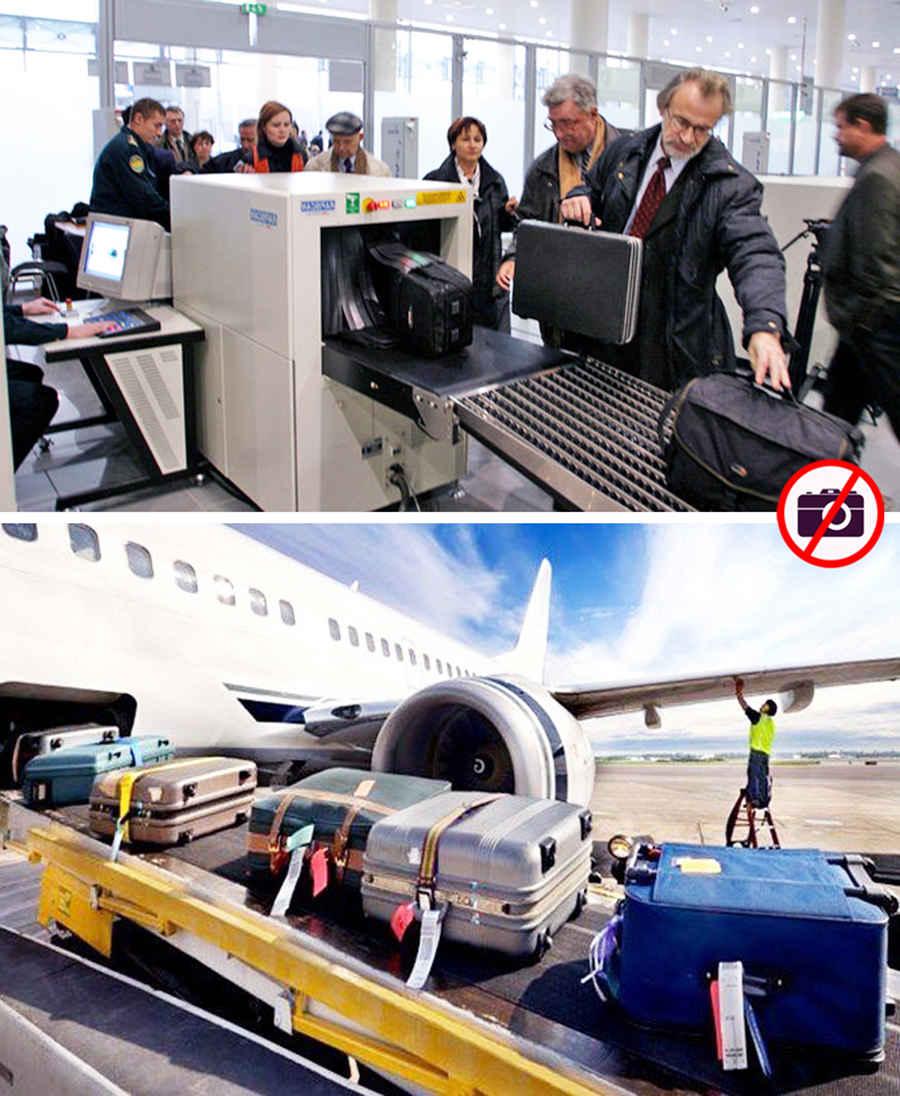 Досмотр и перемещение багажа в аэропорту