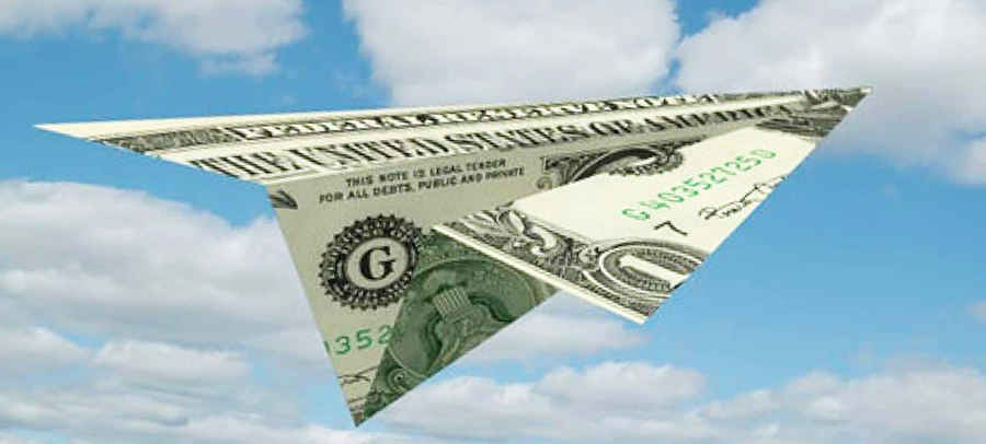 Полет американского доллара