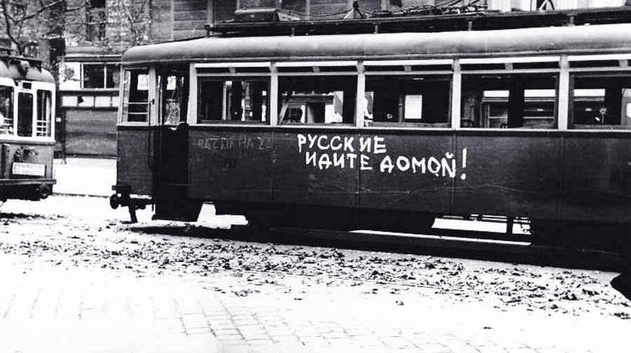 Документальные кадры восстания в Венгрии