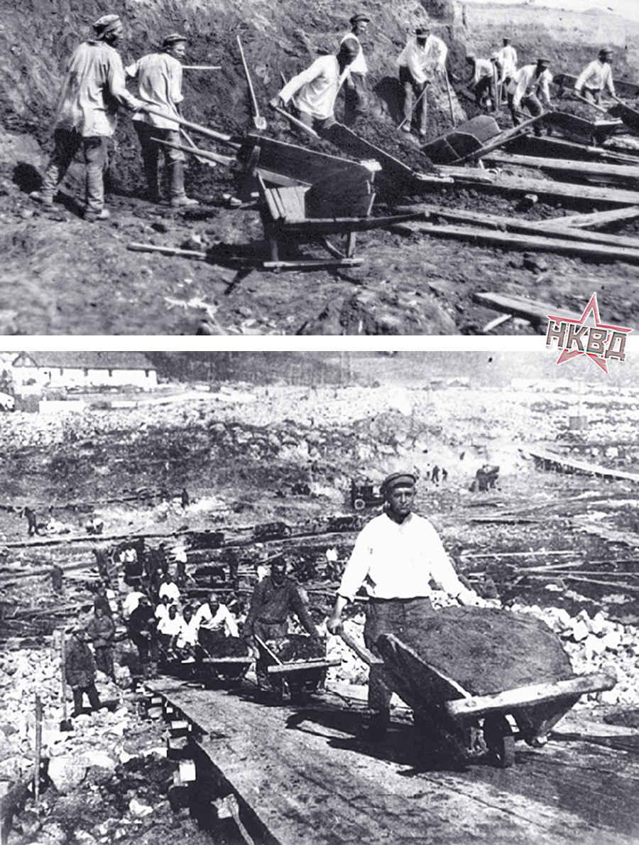 Заключенные Сталина в лагерях СССР