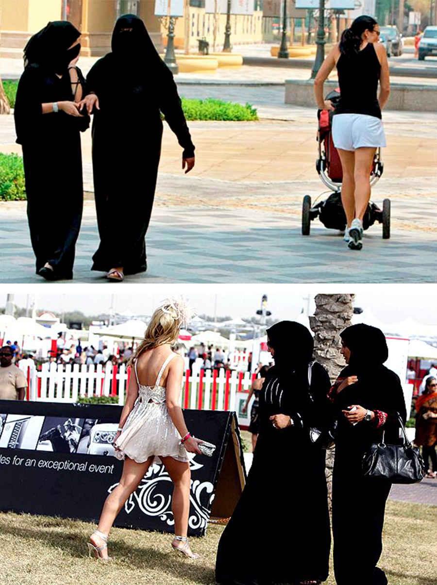 Мусульманские женщины Дубая