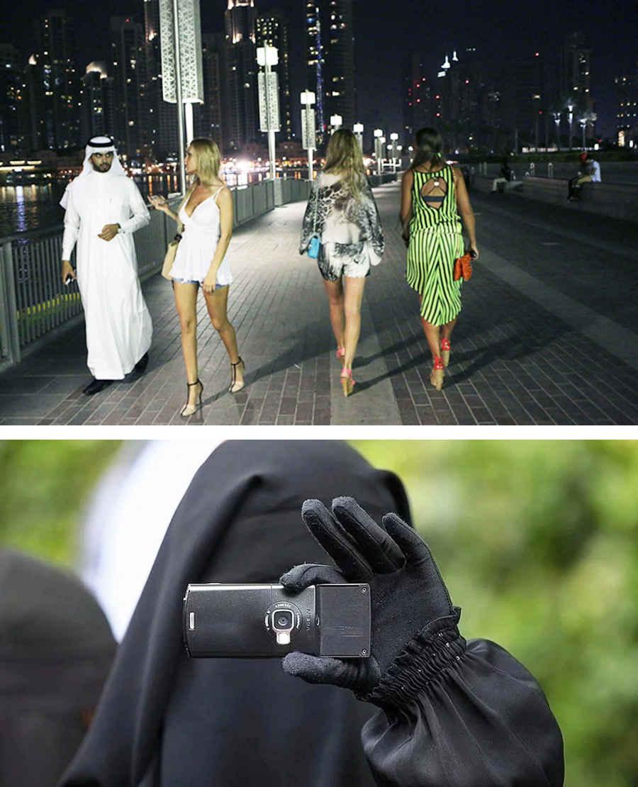 Запрещенные лица Дубая