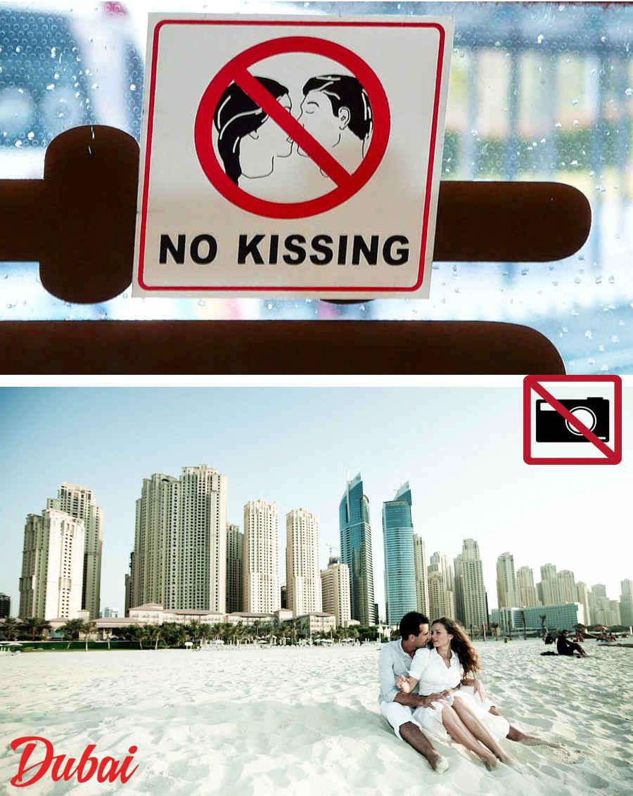 No-kissing-United Arab Emirates