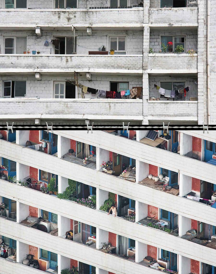 Панельные дома для граждан Северной Кореи