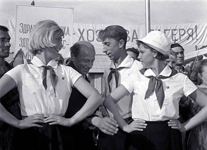 Фото вожатых в пионерском лагере