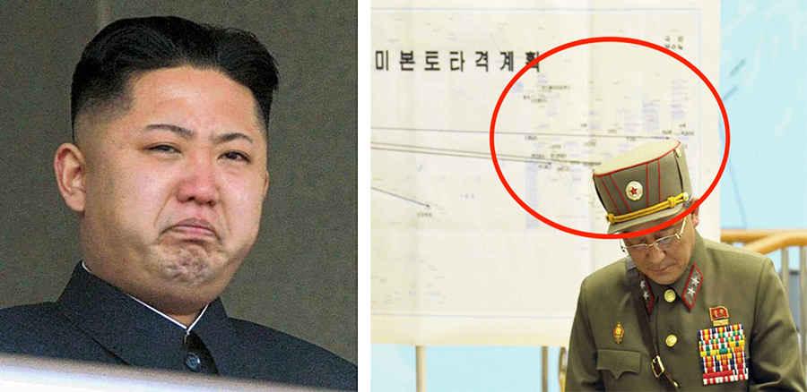 Планы Северной Кореи нападения на США