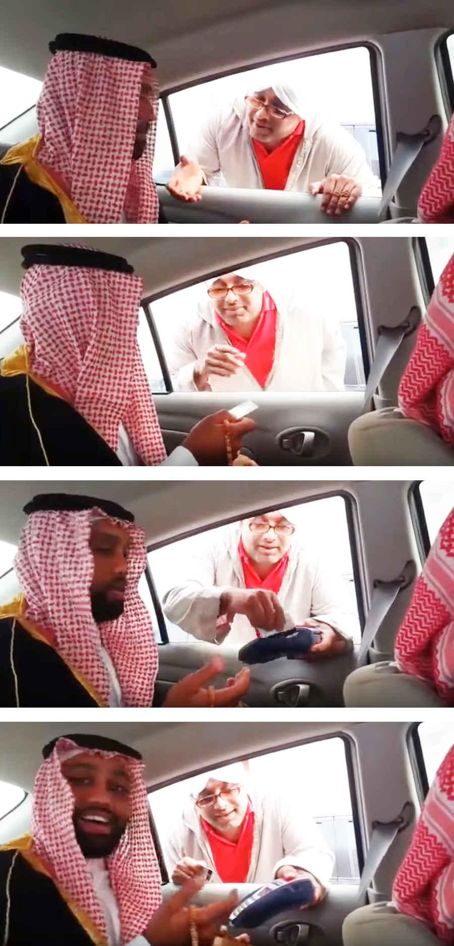 Попрошайка в ОАЭ