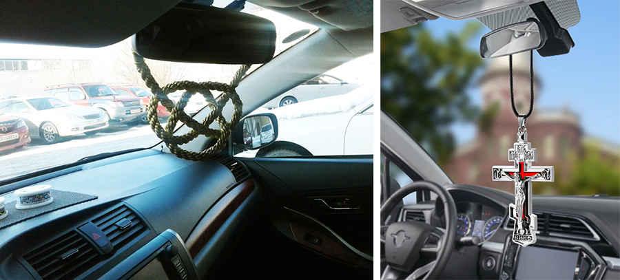 Предметы в автомобиле ограничивающие обзор водителю