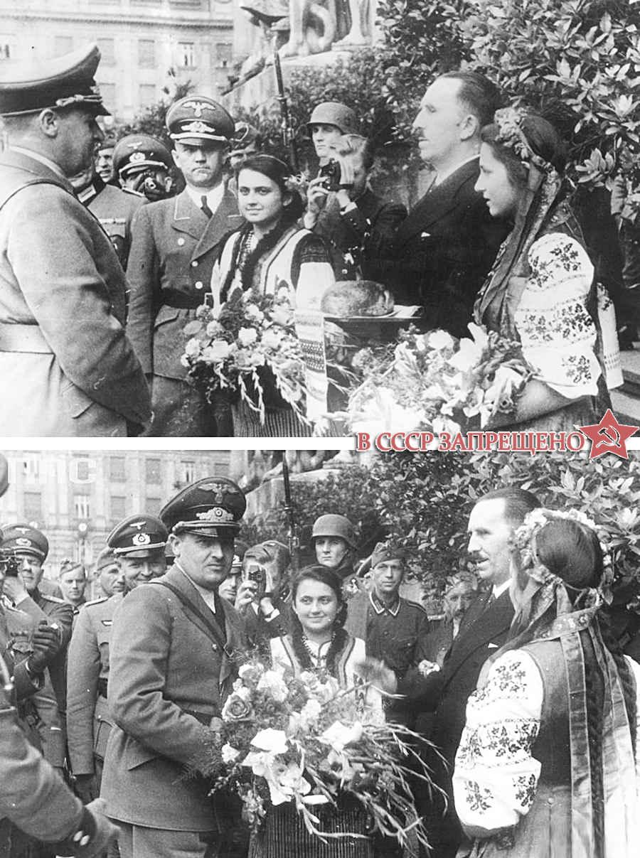 Славяне и немецкие оккупанты