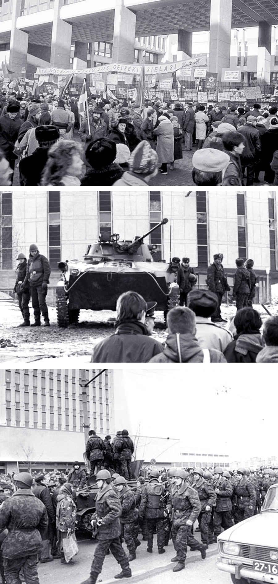 Советская армия в Литве