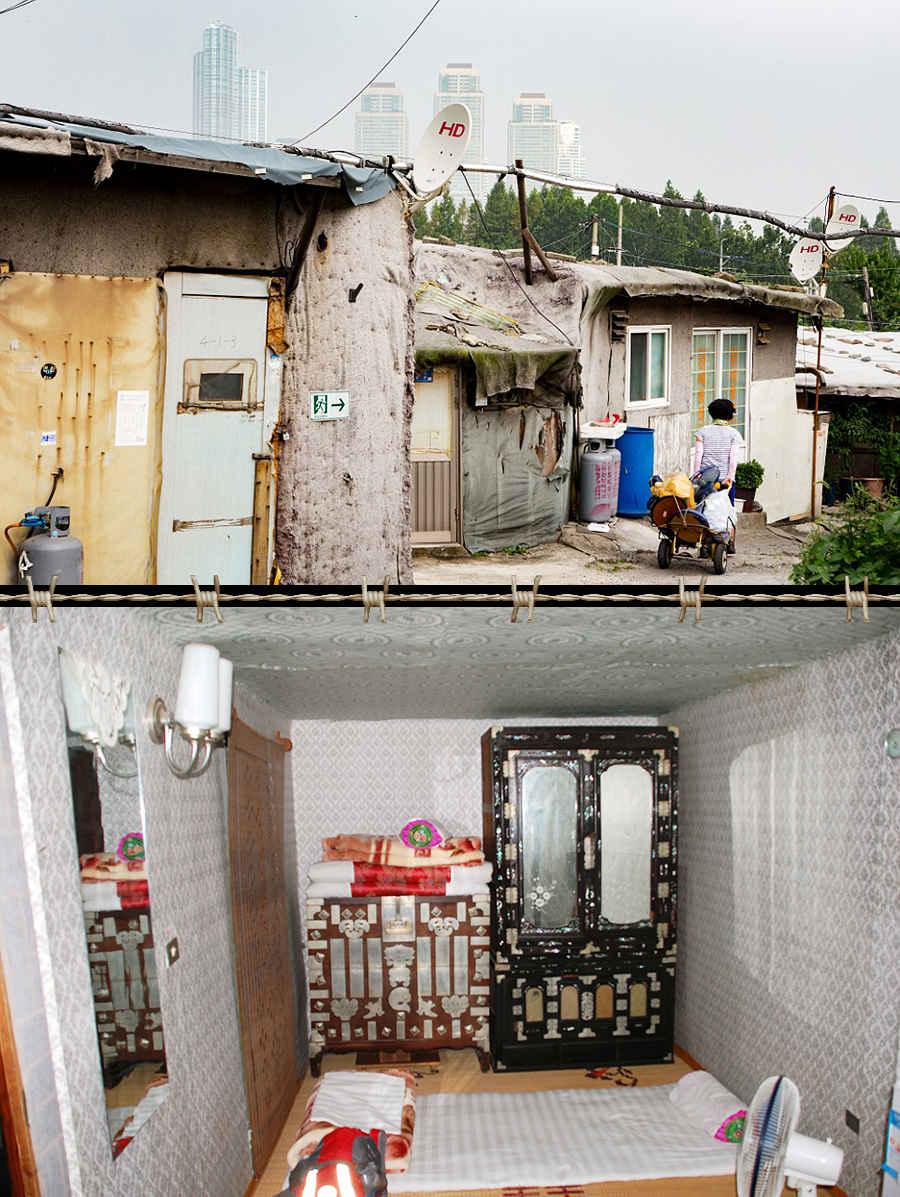 Трущобы Северной Кореи