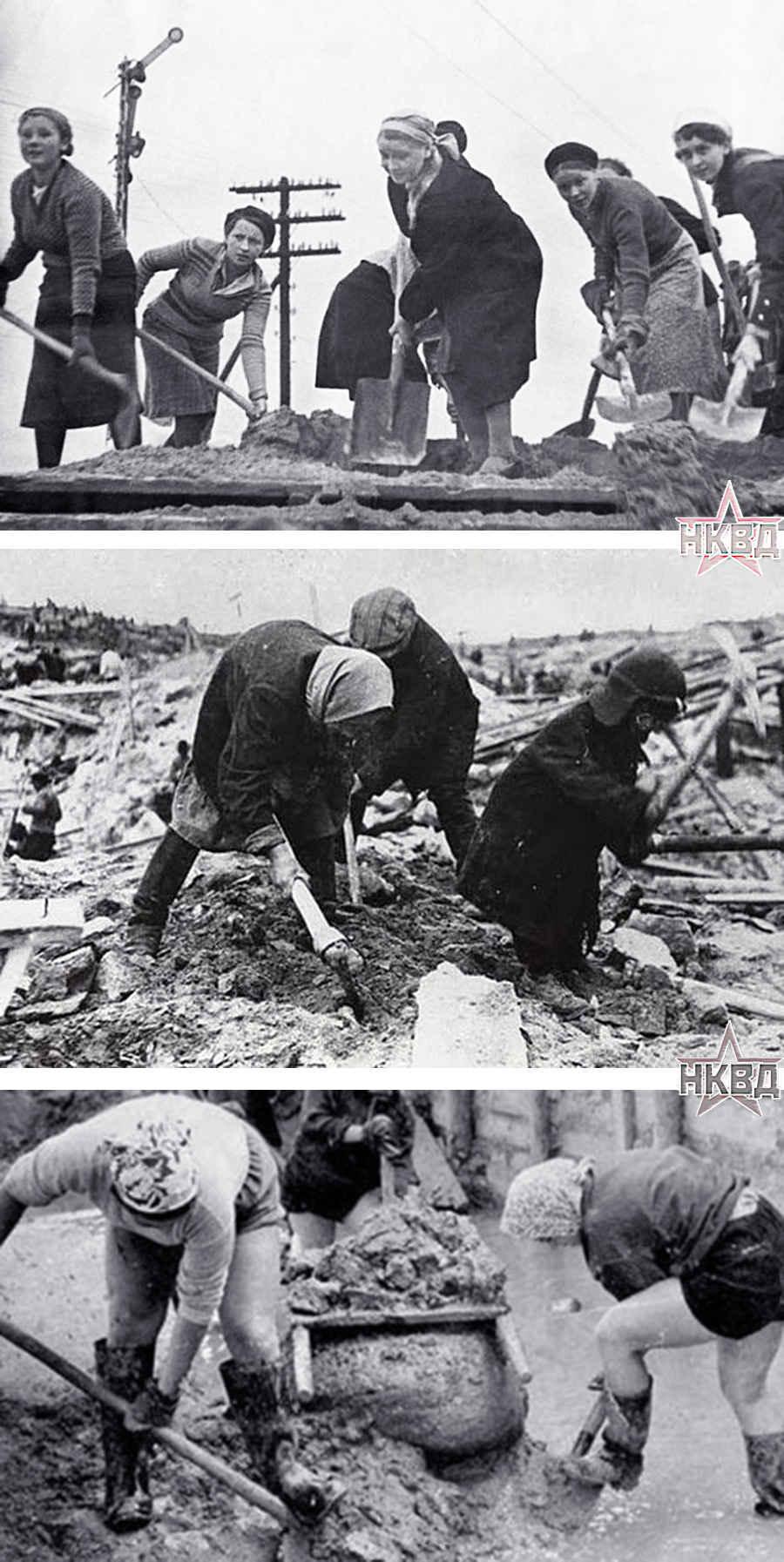 Условия труда женщин в сталинских лагерях