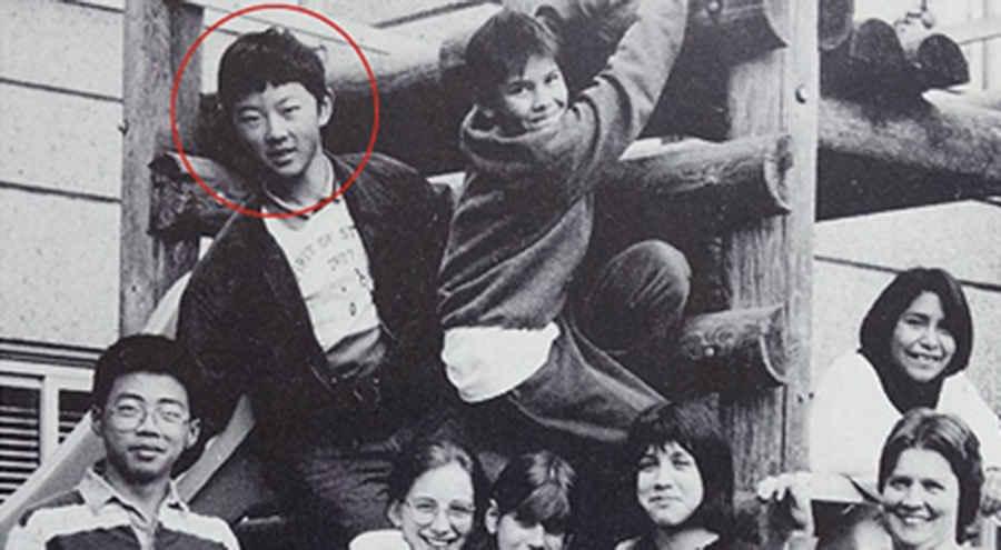 Запрещенная школьная фотография Ким Чен Ына в Швейцарии