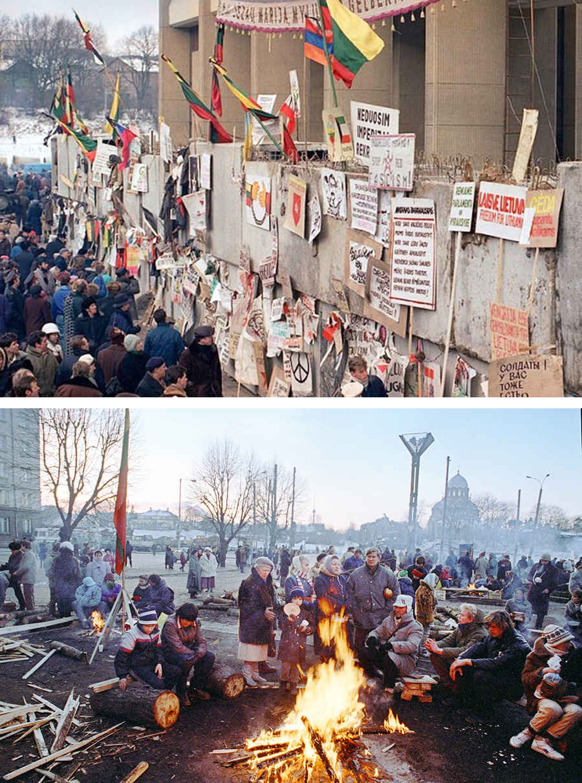 Фото запрещенного восстания в Литве