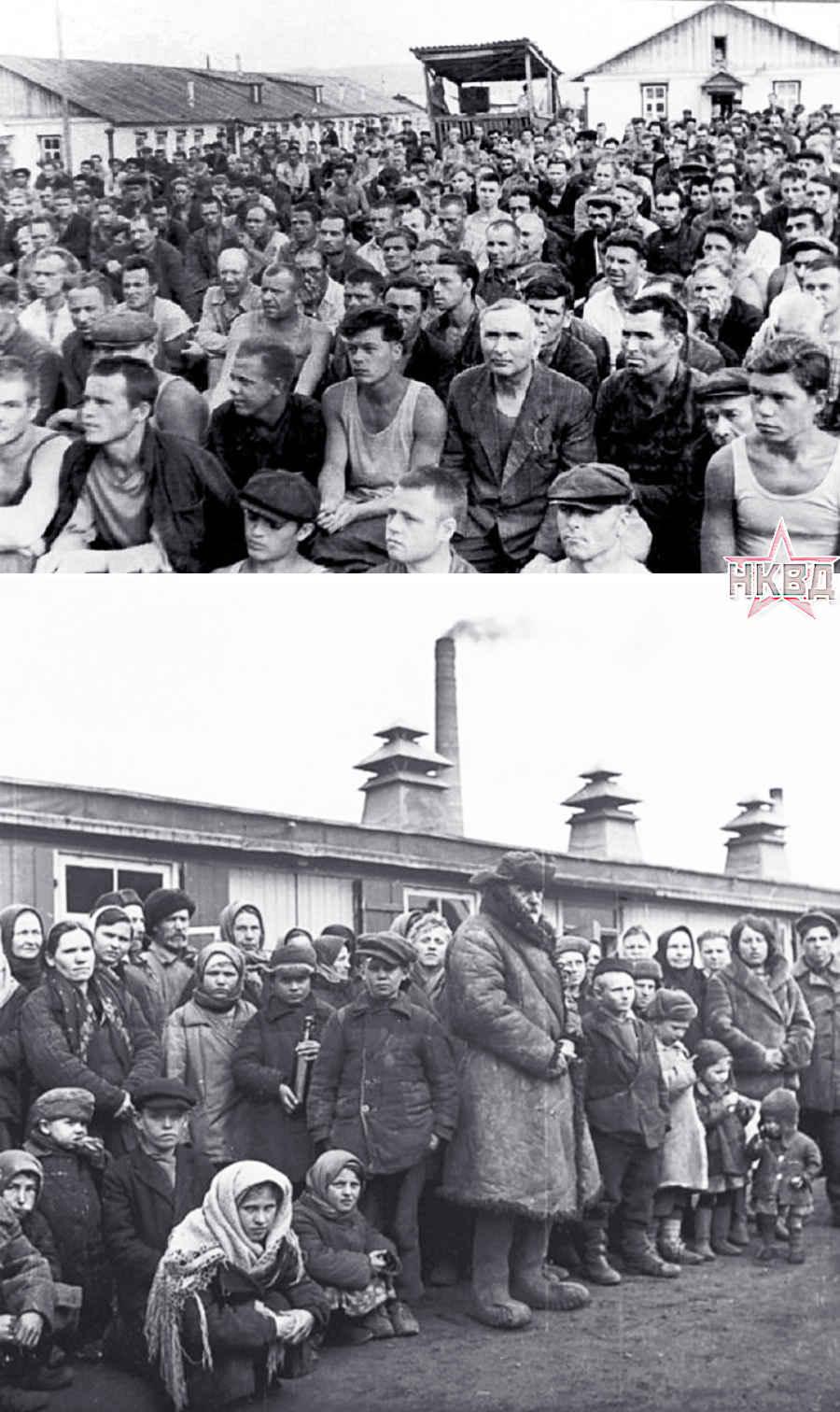 Запретные фотографии заключенных Гулага
