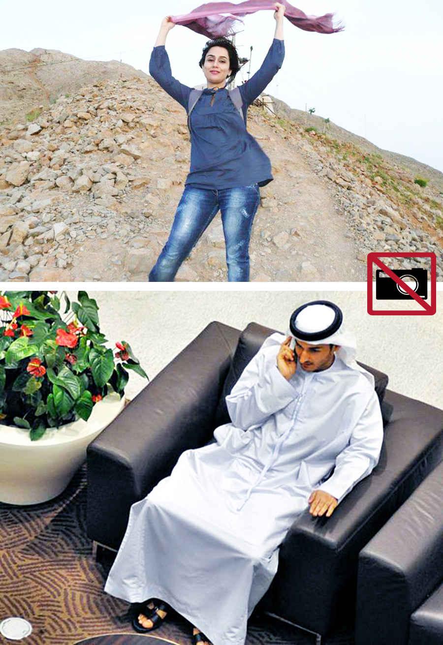 Запрещенные в ОАЭ фотографии
