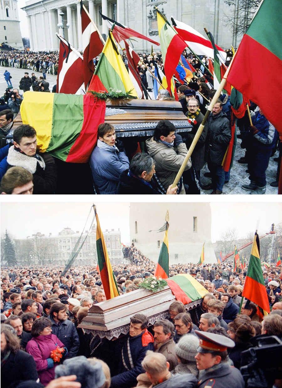 Жертвы восстания в Литве