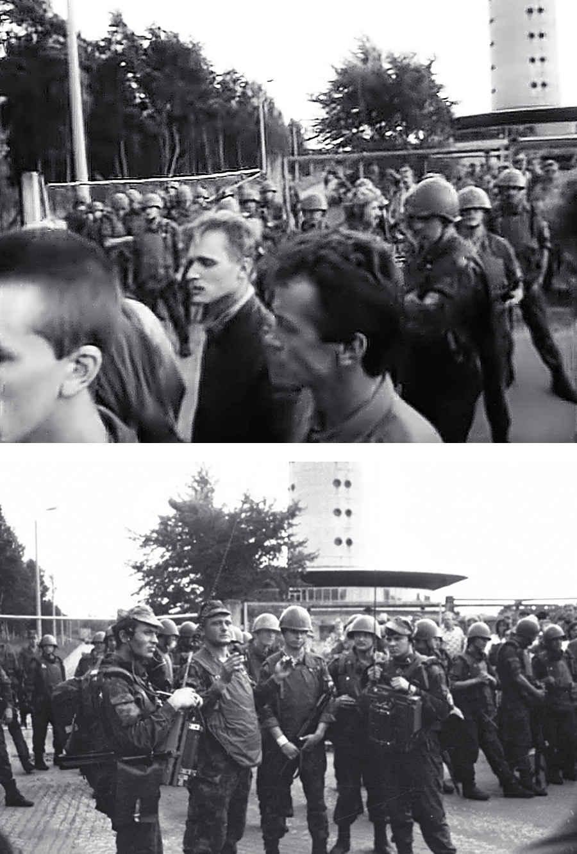 Захват телебашни советскими десантниками 1991 году в Таллине
