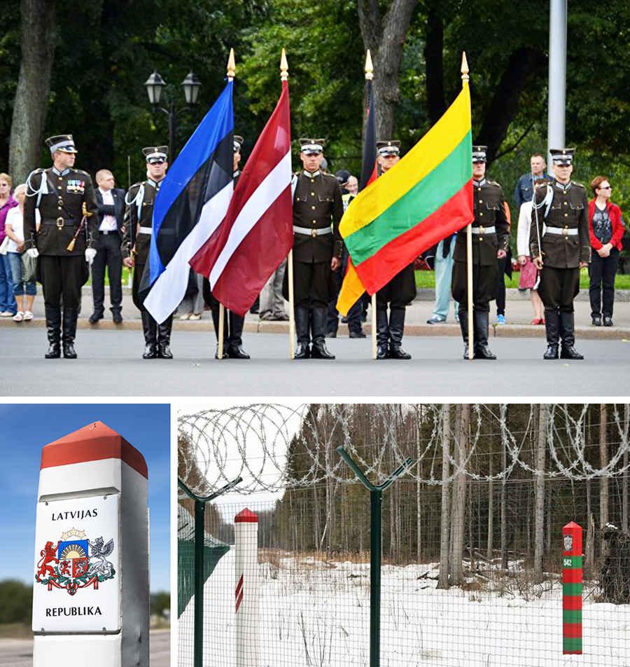 Граница Латвии с Россией